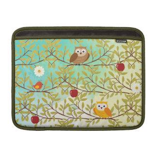Autumn birds MacBook air sleeves