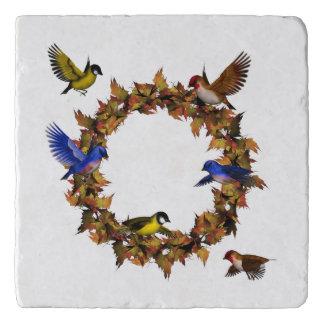 Autumn Birds Trivet