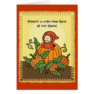 Autumn Birth Announcement (Boy or Girl)