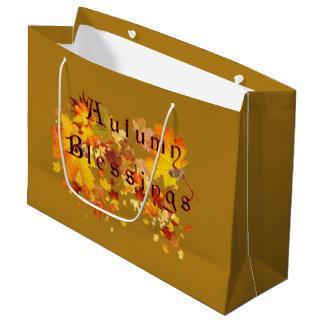 Autumn Blesings Large Gift Bag