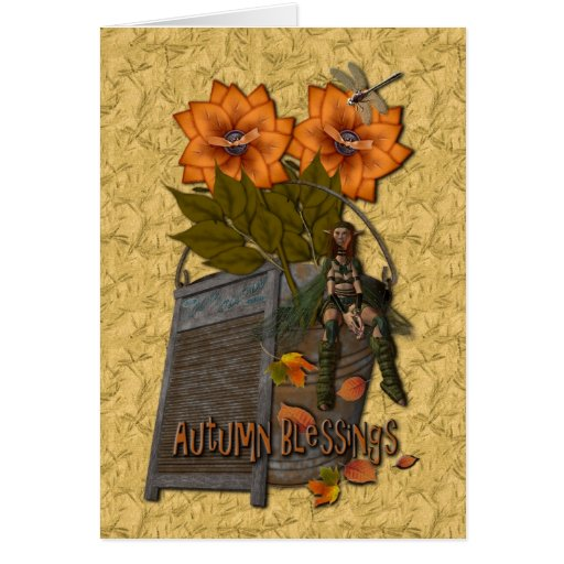 Autumn Blessings Cards