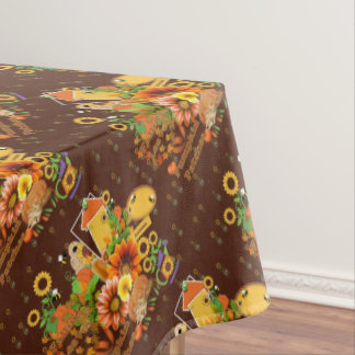 Autumn Blessings Floral Tablecloth