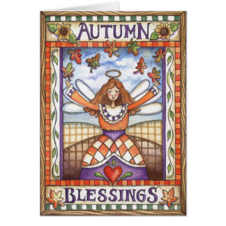Autumn Blessings - Greeting Card