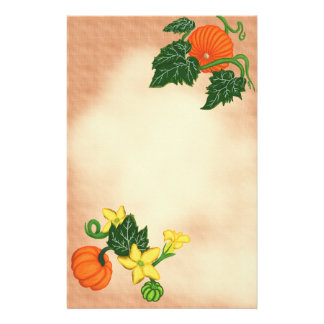 Autumn Blessings ~Pumpkin Patch~ Stationery