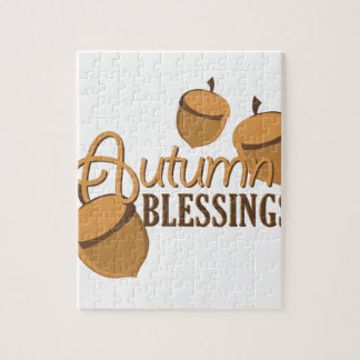 Autumn Blessings Puzzles