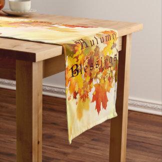 Autumn Blessings Short Table Runner