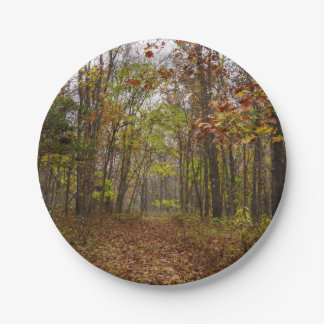 Autumn Bliss 7 Inch Paper Plate