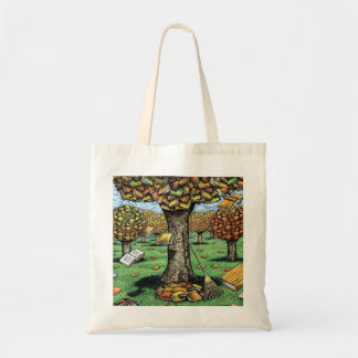 Autumn Books Tote Bag