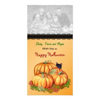 Autumn Bounty Customized Photo Card