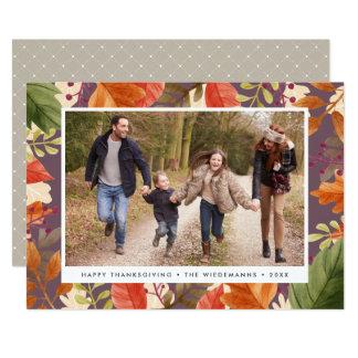 Autumn Bounty   Thanksgiving Photo Card
