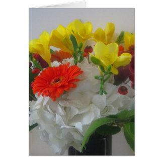 Autumn Bouquet Card