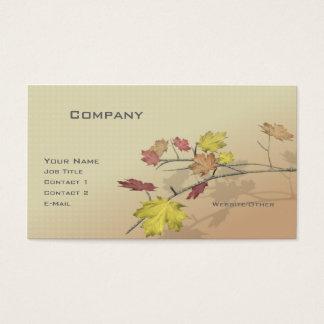 Autumn Branch Business Card