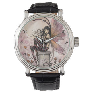 Autumn Breezes Fairy Fantasy Art Watches