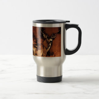 Autumn Buck Travel Mug