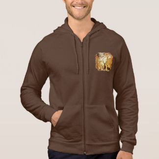 Autumn Bucks Zip Sweatshirt