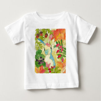 Autumn Bunny by Peppermint Art Baby T-Shirt