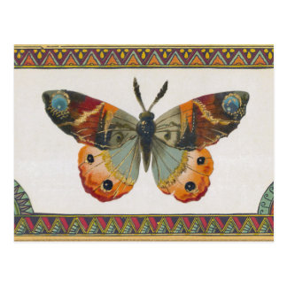 Autumn Butterfly Postcard