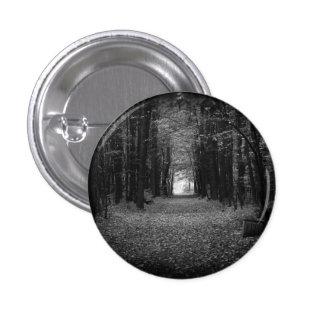 Autumn BW 1 Inch Round Button