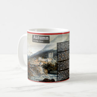 Autumn by John Clare Poetry Coffee Mug