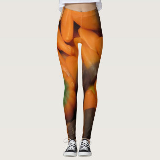 Autumn Candy Corn Leggings