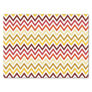 Autumn Chevron Pattern Tissue Paper