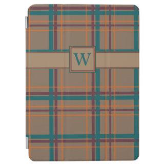 Autumn Chic Plaid iPad Cover