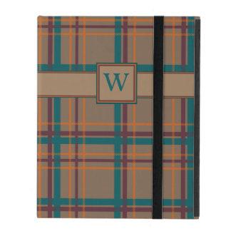 Autumn Chic Plaid iPad Powis Case