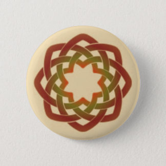 Autumn Circle 2 Inch Round Button
