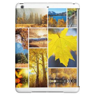 Autumn collage iPad air case