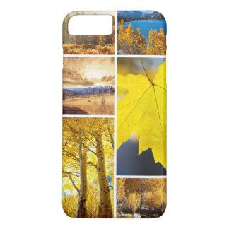 Autumn collage iPhone 7 plus case