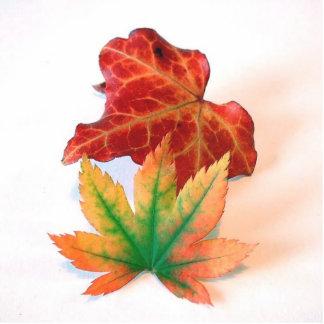Autumn Color Standing Photo Sculpture