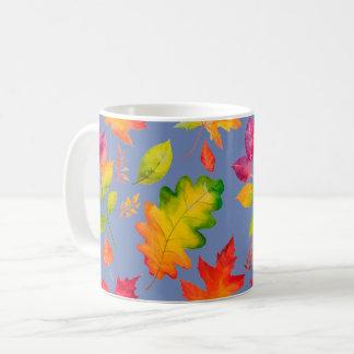 Autumn Colorful Leaves Coffee Mug