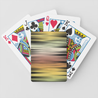 Autumn Colors Abstract Bicycle Playing Cards