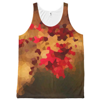Autumn Colors All-Over-Print Tank Top