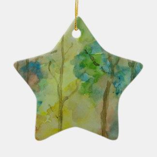 Autumn Colors Ceramic Ornament
