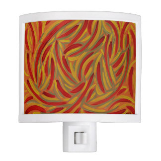 Autumn colors design, Night Light
