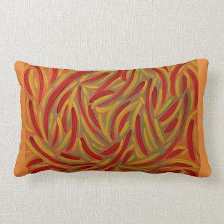 Autumn colors design pillow