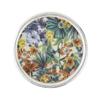 Autumn Colors Floral Lapel Pin