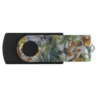 Autumn Colors Floral USB Flash Drive