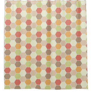 Autumn Colors Honeycomb Pattern