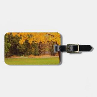 Autumn Colors Luggage Tag