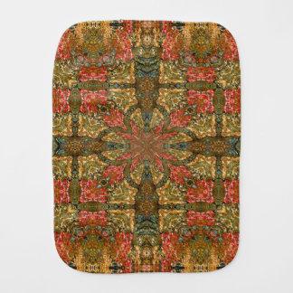 Autumn Colors Mandala Burp Cloth
