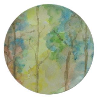 Autumn Colors Plate