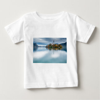 Autumn colours at Lake Bled Baby T-Shirt