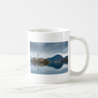Autumn colours at Lake Bled Coffee Mug