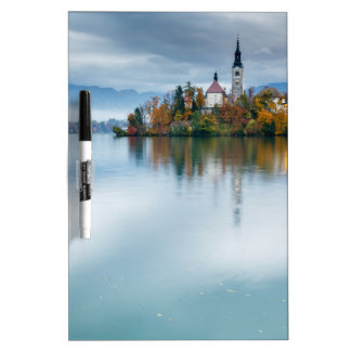 Autumn colours at Lake Bled Dry Erase Whiteboards