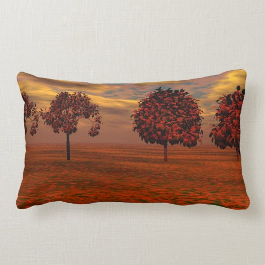 Autumn Colours Maple Trees Art Gifts Lumbar Pillow