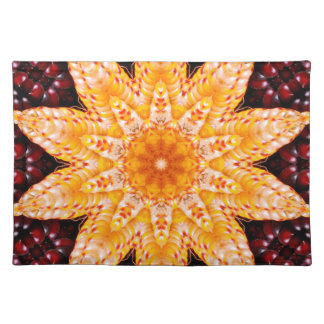 Autumn Corn Flower Placemat