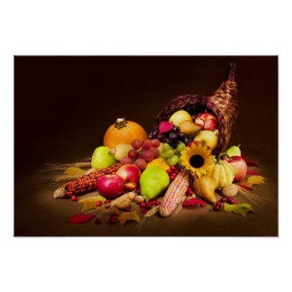 Autumn Cornucopia Poster