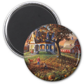 Autumn Country Scene Magnet